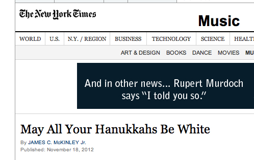 New York Times, Rupert Murdoch, Fox News, Meme