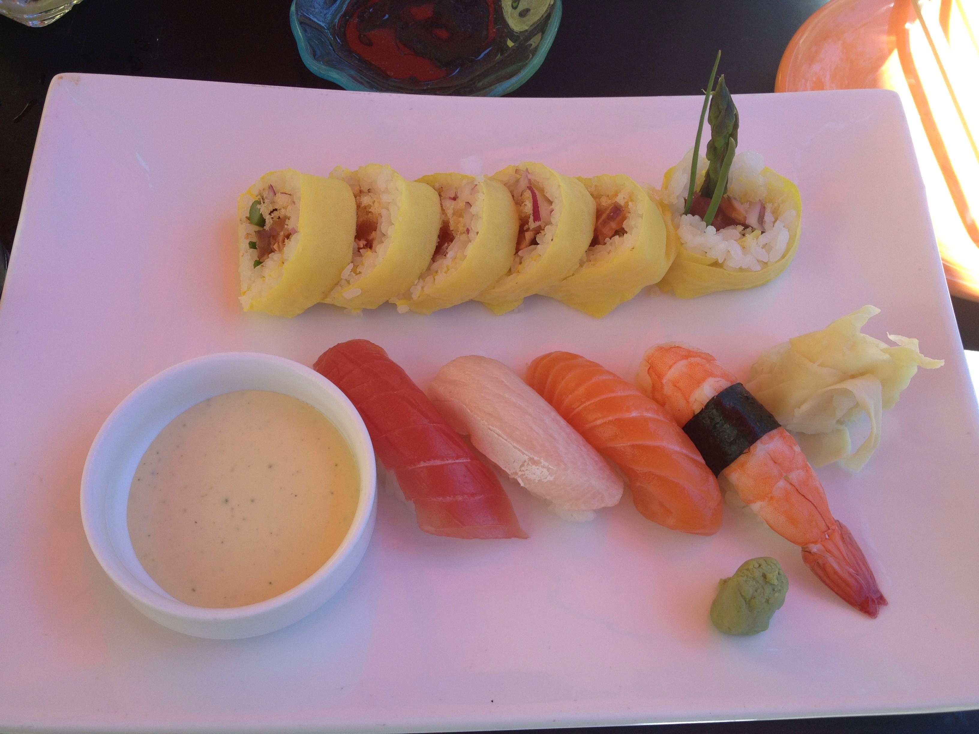 Sushi Samba Restaurant Week Menu