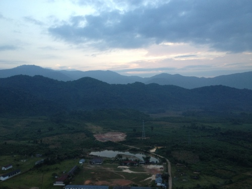 laos, vang vieng,  travel, hot air balloon