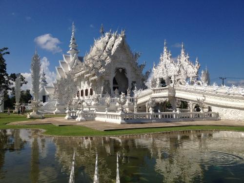 thailand, white palace, chiang rai, chiang mai, buddhism, buddha, travel, se asia